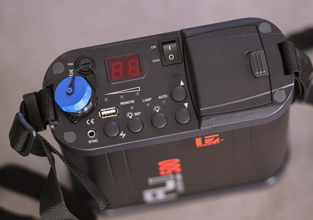 Jinbei FL-II 500 Porty Blitz Akku