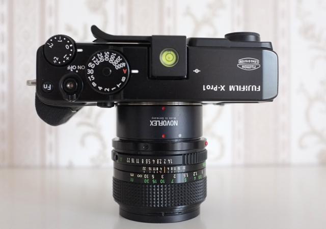 Das Scharfstellen mit manuellen Objektiven an Fuji X Systemkameras ist ein Genuss.