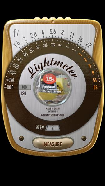 Die myLightMeter App für das iphone