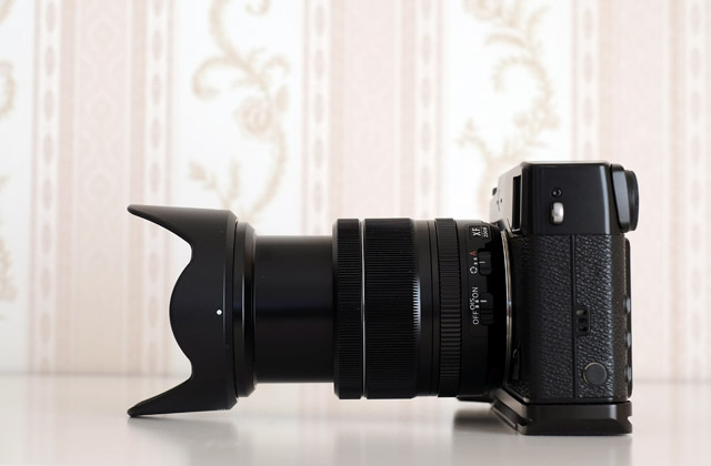 Ausgefahrenes Fujinon XF 18-55mm F2.8-4 R LM OIS