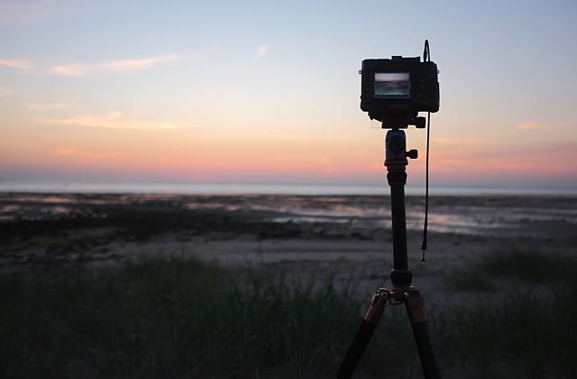Das perfekte Stativ für die Landschaftsfotografie mit ausgefahrener Mittelsäule