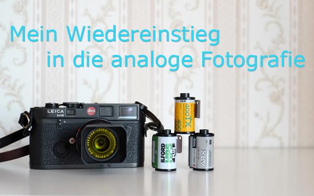 Analoge Fotografie alte Leica M6 und Negativfilme