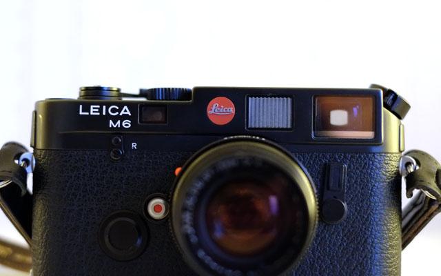 Bedienelemente Front Leica M6