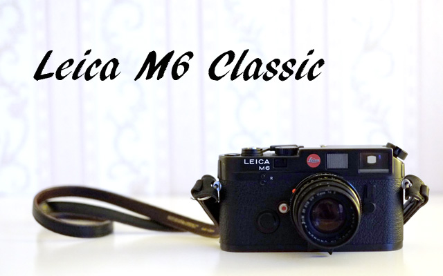 Leica M6 Classic Messsucherkamera