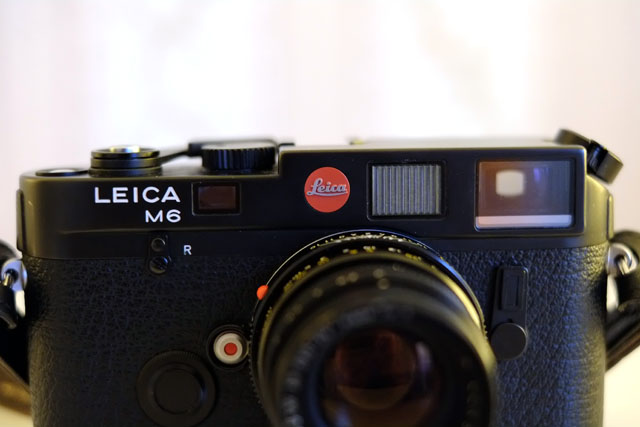 Leica M6 Classic Front Nahaufnahme