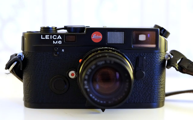 Leica M6 Classic Frontansicht