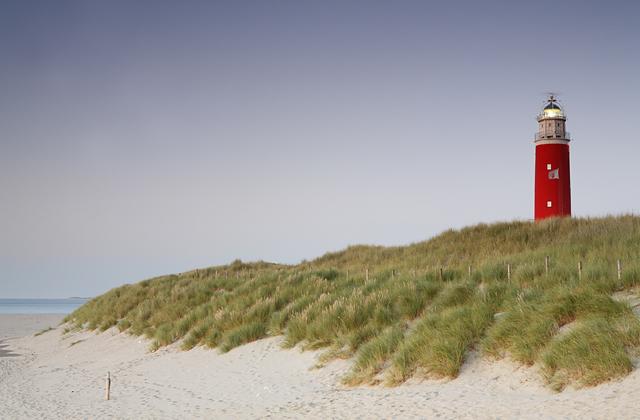 Bessere Landschaftsfotos auf Texel Leuchtturm