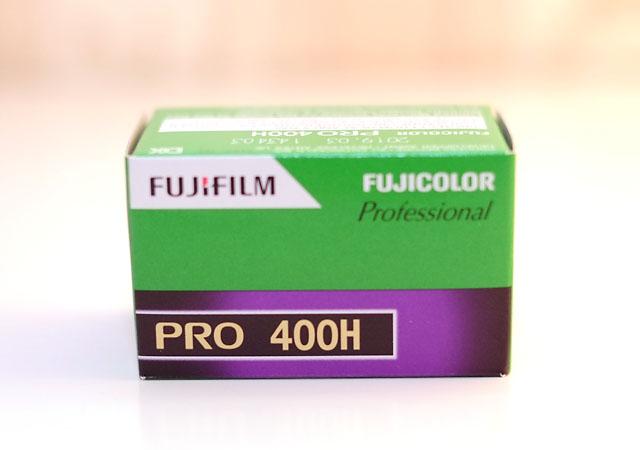 Analog Kamera Filmempfehlung Fujicolor Pro 400H