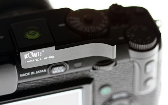 Fuji X Pro 1 Daumenauflage