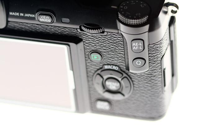 Fuji X Pro 1 AE-/AF-Lock Taste
