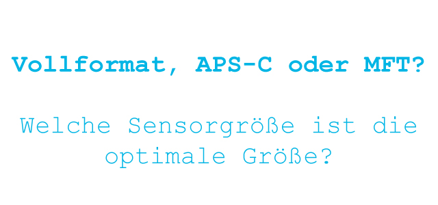 Header optimale Bildsensor Größe