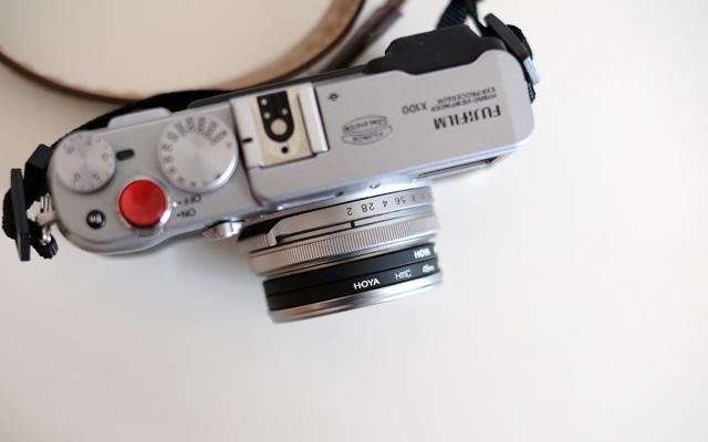 Filteradapter an Fujifilm X Serie