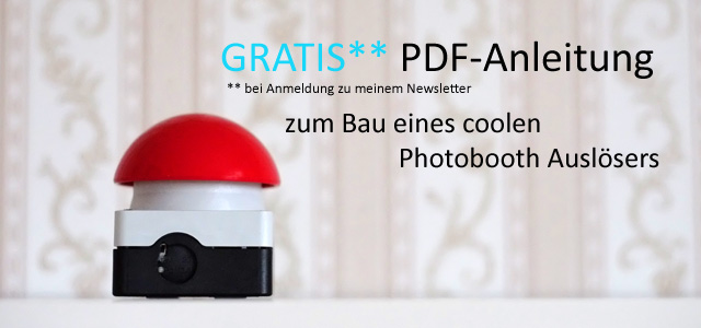 Footer Banner Newsletter PDF Photobooth Schalter