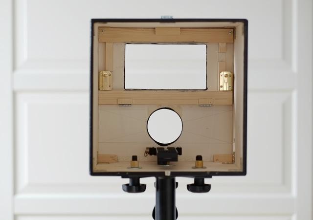 Innenausbau des Photobox Gehäuse.