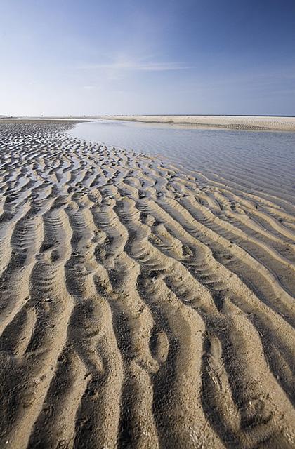Strand in der Nähe des NG De Slufter, Texel, Holland
