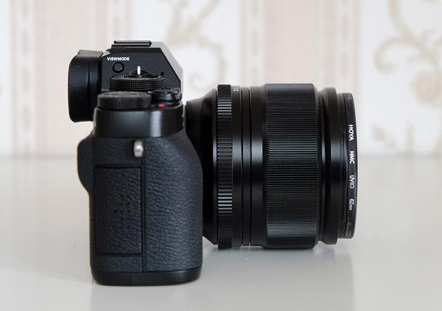 Fuji_XT1_ohne Akkugriff mit dem Fujinon XF 56mm 1.2 R