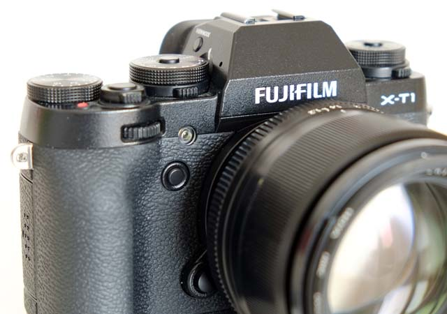 Vordere FN-Taste_Fujifilm XT-1