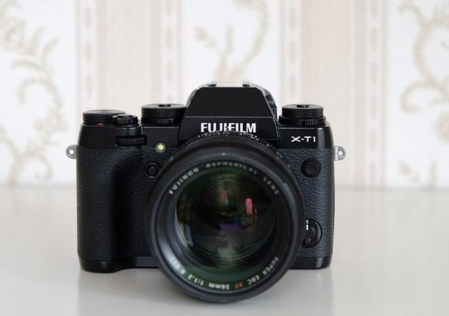 Vorderseite Fujifilm XT1