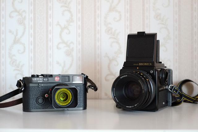 analog fotografieren mit alten kameras leica zenza bronica
