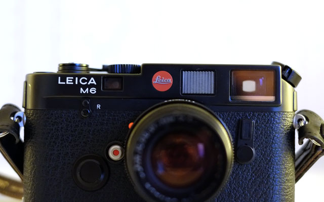 Vorderseite Leica M6 Classic nicht TTL