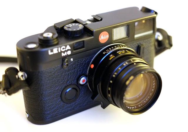 Leica M6 Classic Zeitenrad Fokussierung