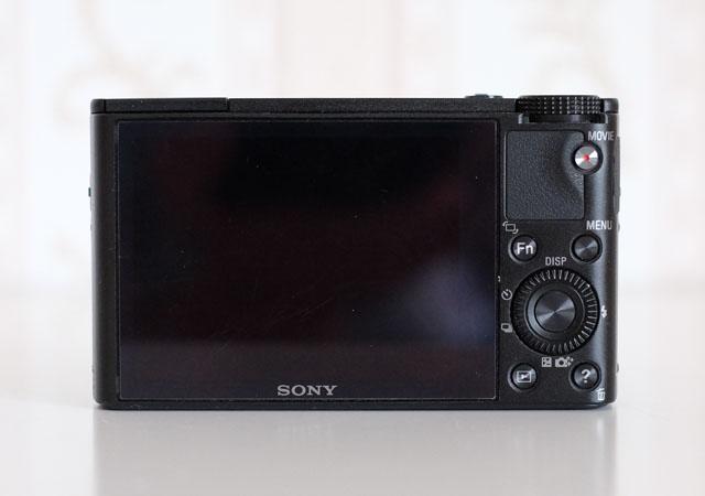 Foto Rückseite Sony RX 100